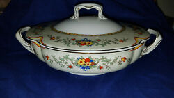 Johnson Bros England Pareek Covered Round Vegetable Dish Server 11 In Brothers