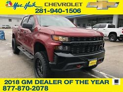 2019 Chevrolet Silverado 1500 Custom Trail Boss 2019 Chevrolet Silverado 1500 Custom Trail Boss 15 Miles Cajun Red Tintcoat 4WD