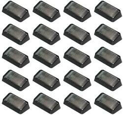 Arcon 51309 Porch Light Black Base With Clear Lens 12 Volt 20 Pack