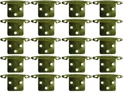 Jr Products 70615 Door Hinge Free Swing Universal Replacement 20 Pack