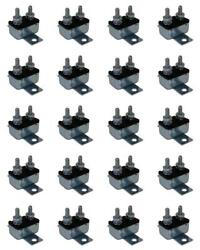 Prime Products 16-3020 Circuit Breaker 20 Amp 12 Volt Automatic Reset 20 Pack