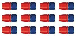 Aeroquip Fcm1014 Hose End Fitting -10 An Hose Straight Anodized 12 Pack