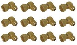 Camco 57633 Propane Hose Connector 90 Degree Elbow 12 Pack