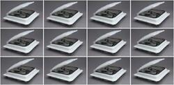 Heng's Industries J7291wh-cr Roof Vent Lid Jensen Without Pin Hinge 12 Pack