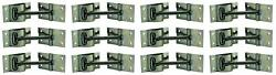 Jr Products 10515 Door Catch Replacement For Any T-type Of Door Holder 12 Pack