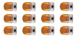 Fasteners Unlimited 007-30sap Porch Light Incandescent Bulb 12 Pack