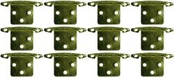 Jr Products 70615 Door Hinge Free Swing Universal Replacement 12 Pack