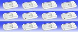 Thin-lite Dist-311-1 Dome Light Clear Polycarbonate Lens 12 Pack