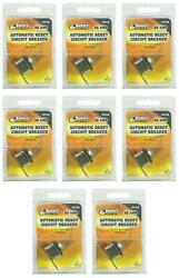 Wirthco 31118 Circuit Breaker 50 Amp Fits 6 To 24 Volt Application 8 Pack