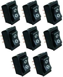 Jr Products 12395 Slide Out Switch Momentary Switch 4 Pin Terminal 8 Pack