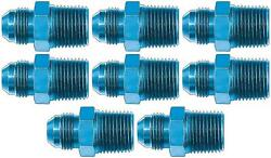 Aeroquip Fcm2009 Adapter Fitting -10 An Male To 1/2 Inch Pipe Thread 8 Pack