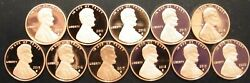201011201213141516172018201920202021 S Lincoln Shield Gem Proof Penny