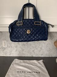 Marc Jacobs Authentic Quilted Navy Leather Purse $109.99