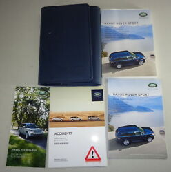 Document Kit + Manual Owner's Manual + Wallet Range Rover Sport Stand 2015