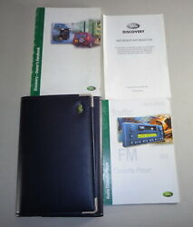 Document Kit + Manual Owner's Manual + Wallet Land Rover Discovery Stand 2001