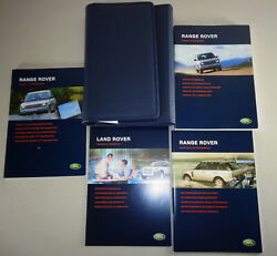 Document Kit + Manual Owner's Manual + Wallet Range Rover Stand 2003