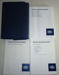 Document Kit + Manual Owner's Manual + Wallet Range Rover Sport Stand 2014