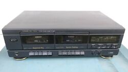 Fisher Good Working Stereo Double Cassette Deck Cr-w681 Parts Parting Out , G322