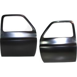 Set Of 2 Door Shells Front Left-and-right For Chevy 15571643 15571644 Pair