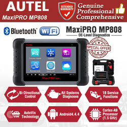 Autel MaxiPRO MP808 Car Bi-Directional Diagnostic Tool All System OBD2 Scanner