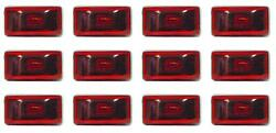 Optronics Mc-95rs Sealed Stud Clearance Light Red 12 Pack