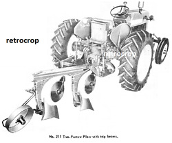 Ih International Harvester 211 311 2 Point Fast Hitch Plow Ownerand039s Manual 560