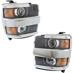 Gm2502416c, Gm2503416c Headlight Lamp Left-and-right For Chevy Lh And Rh Chevrolet