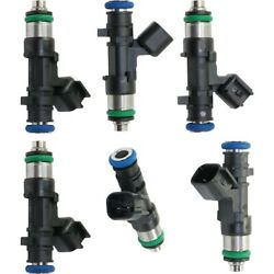 Set Of 6 Fuel Injectors Gas For Town And Country Dodge Grand Caravan Chrysler