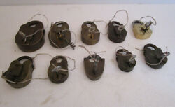 Lot Of 10 Pieces Antique Brass Padlock - Lock With Key - Brass Made 571