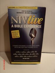 Niv Live A Bible Experience Audio 80 Cd's 2013 With Case And Bonus Dvd
