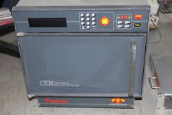 CEM Microwave Furnace Phoenix Standard Unit 905411 Tested and Working