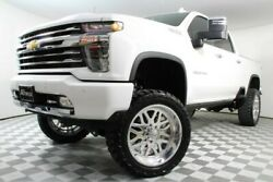 2020 Chevrolet Silverado 2500  Custom Lift Kit Chevy Denali High Country Used Diesel American Force