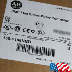 Portable Allen-Bradley SMC Flex Smart Motor Controlle 150-F108NBD,480V AC Good