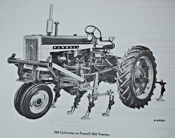Ih Farmall 504 Mccormick 268 2 Point 2 Row Cultivator Owners Manual 2pt 3pt