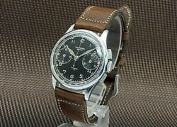 Universal Geneve Comper 30 2reg. Chronograph Hand Winding Vintage Watch 1940and039s