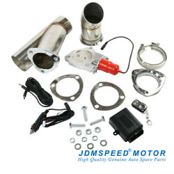 Jdmspeed 3and039and039 Electric Exhaust Muffler Valve Cutout System Dump Wireless Remote