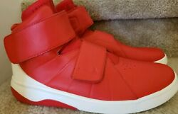 Nike Marxman Red Double Strap Sneakers - Menand039s Size 10.5 - 832764-600