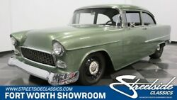 1955 Chevrolet Bel Air150210 -- Awesome Custom Build! Strong Built 350 V8 Muncie 4 Spd AC Long Spec Sheet!