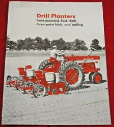 Ih Mccormick Planters Brochure Mounted 2pt Fast Hitch 3pt Hitch Trailer Farmall