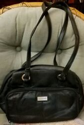 Hush Puppy Leather Organized Purse $19.99