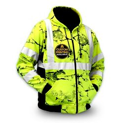 KwikSafety UNCLE WILLY#x27;S WALL High Vis Reflective ANSI Class 3 Safety Jacket