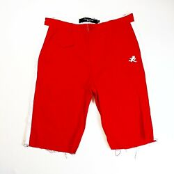 Play Cloths Mens 100authentic Shorts Size Large Red Logo