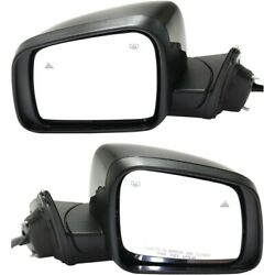 Pair Set Of 2 Mirrors Left-and-right Heated Ch1320415, Ch1321415 Lh And Rh