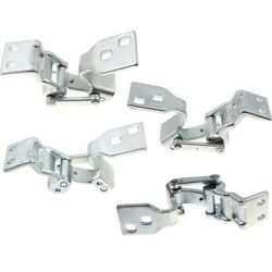 Door Hinges Set Of 4 Left-and-right Upper 9t1z6126810c 9t1z6126810d Lh And Rh