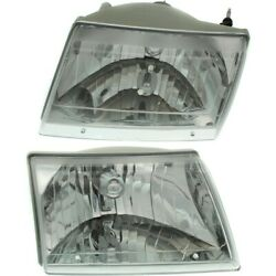 Headlight Lamp Left-and-right For Pickup Ma2502117c, Ma2503117c Lh And Rh B3000