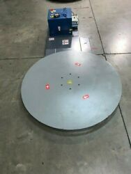 Pallet Wrapper (Stretch Wrapper) Turntable Low Profile System with remote start