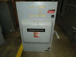 Ge Tc35365 Mod7 400a 3ph 3p 600vac Double Throw Non-fused Manual Transfer Switch