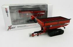 164 Speccast Jandm X-tended Reach X1112 Tracked Grain Cart Wagon Red Nib