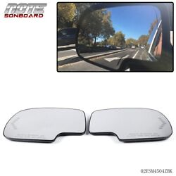 Pair Mirror Heated with Turn Signal Left amp; Right Side For Chevy GMC Cadillac