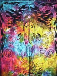 Lord Ganesha Poster Religious Indian God Wall Decor Hanging Dorm Room Decoration